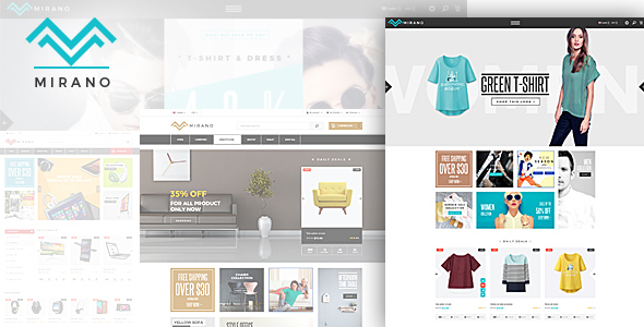 Mirano - Responsive eCommerce HTML5 Template - Shopping Retail