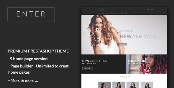 JMS Enter - Responsive Fashion Prestashop Theme - Fashion PrestaShop