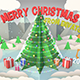 Christmas Pop Up Card - VideoHive Item for Sale