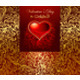 Beautiful Card with Golden Heart - GraphicRiver Item for Sale