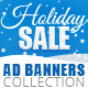 Holiday Sale Web Ad Banners - GraphicRiver Item for Sale
