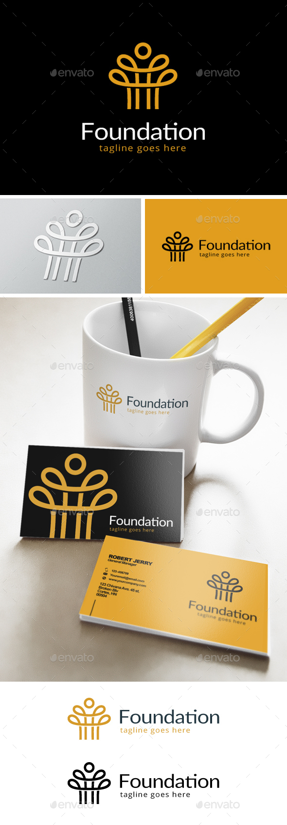 Foundation Logo - Abstract Logo Templates