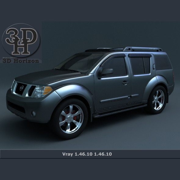 Nissan Pathfinder 2011 2012 - 3DOcean Item for Sale