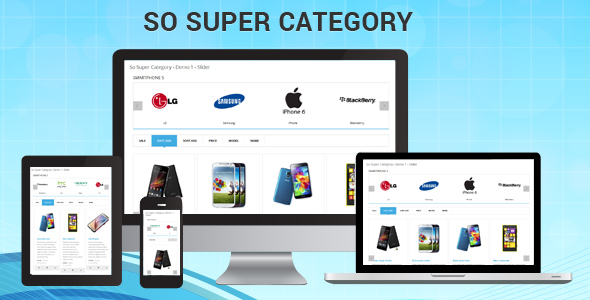 So Super Category - Responsive OpenCart Module - CodeCanyon Item for Sale