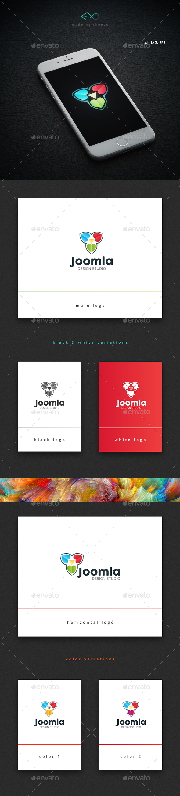Joomla - Nature Logo Templates