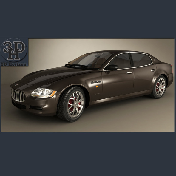Maserati Quattroporte 2012 - 3DOcean Item for Sale
