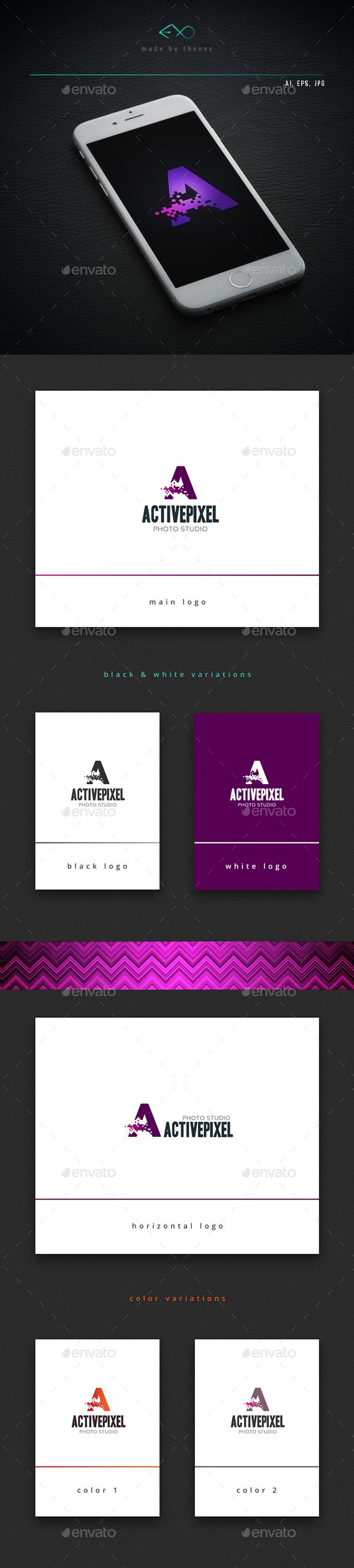 Activepixel - Letters Logo Templates