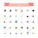 Spa Flat Icons - GraphicRiver Item for Sale