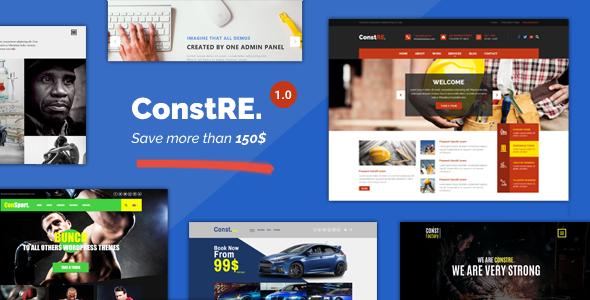 ConstRE | Multi-Purpose WordPress Theme