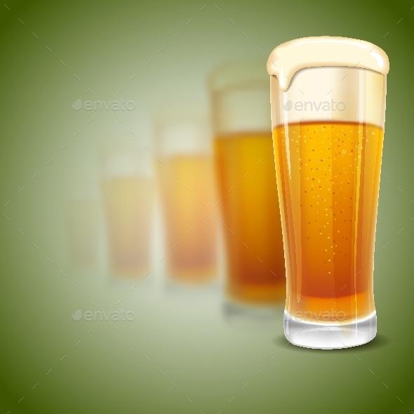 Glass of Beer - Miscellaneous Vectors