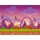 Cartoon Fantasy Vector Seamless Landscape - GraphicRiver Item for Sale