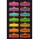 Cartoon Colorful Buttons With Golden Rim - GraphicRiver Item for Sale