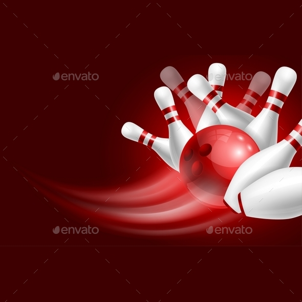 Bowling - Sports/Activity Conceptual