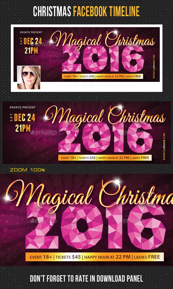 Christmas Holidays Facebook Timeline 06 - Facebook Timeline Covers Social Media