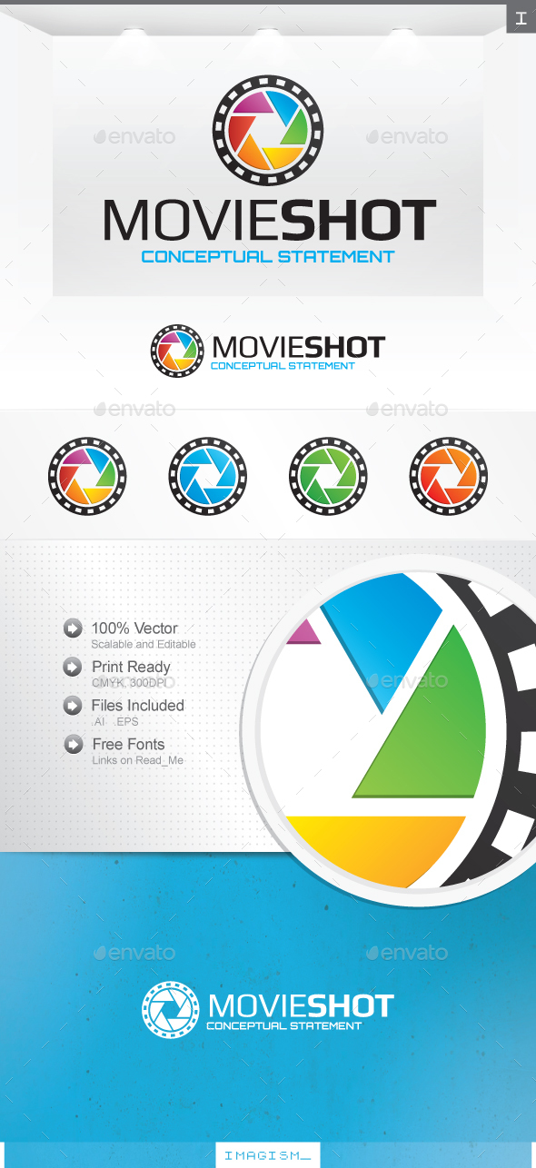 Movie Shot Logo - Objects Logo Templates