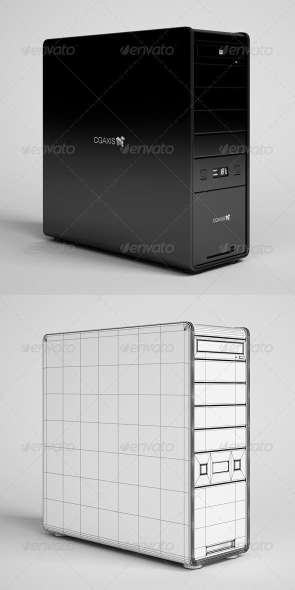 CGAxis Desktop Computer Electronics 21 - 3DOcean Item for Sale