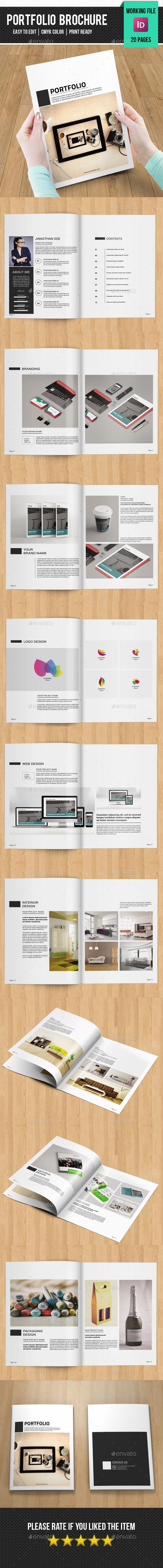 Minimal Portfolio Brochure-V326 - Portfolio Brochures