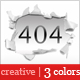 Creative 404 Error Page Nulled