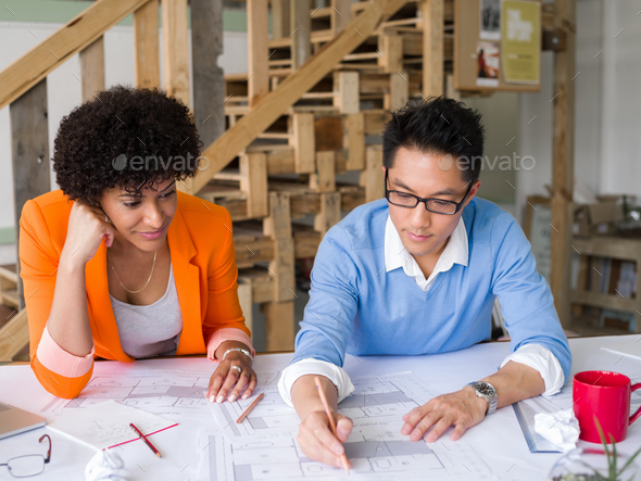 Creative team at work - Stock Photo - Images