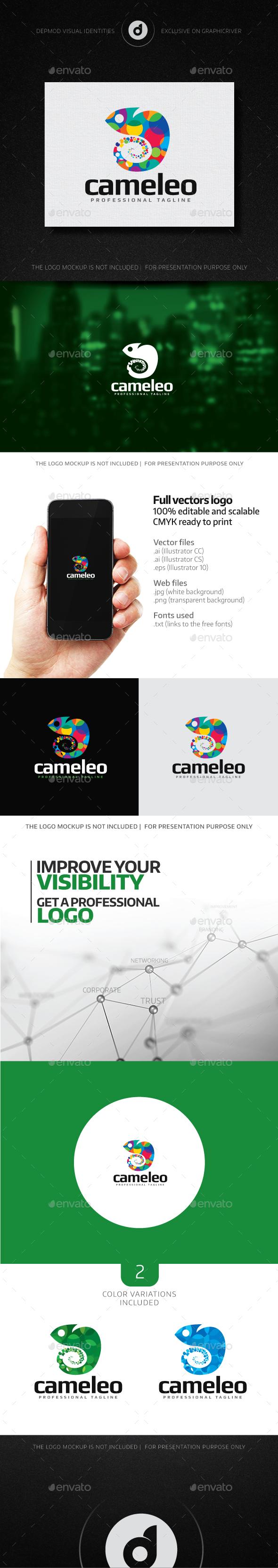 Cameleo Logo - Animals Logo Templates