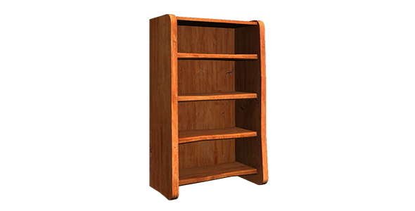 Shelf low poly  - 3DOcean Item for Sale