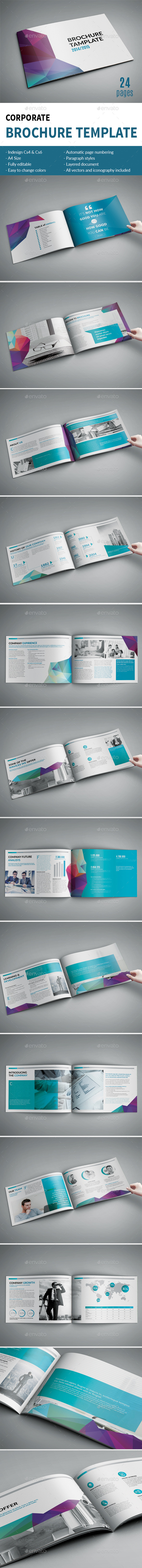 Multipurpose Corporate Brochure - Brochures Print Templates