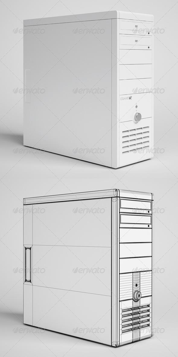CGAxis Desktop Computer Electronics 23 - 3DOcean Item for Sale