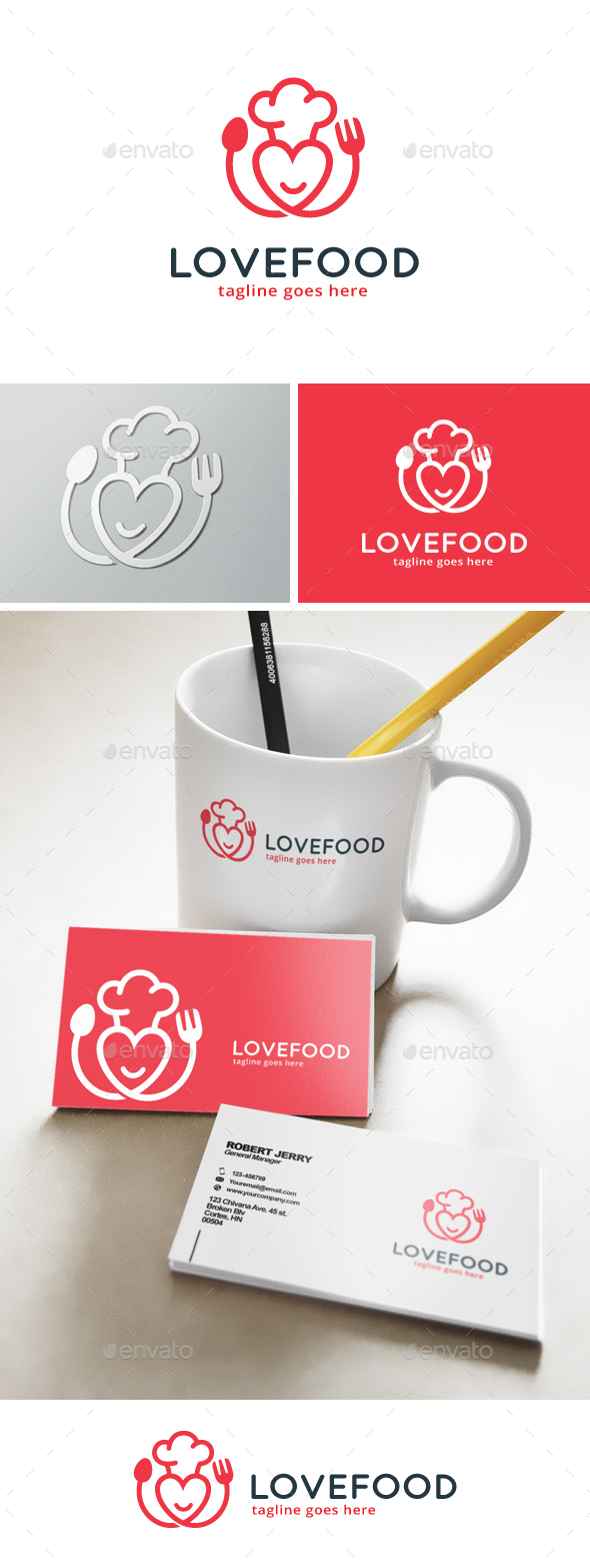 Food Lover Logo - Symbols Logo Templates