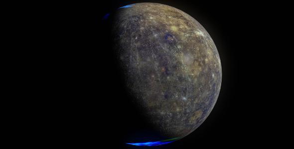 Mercury 8k - 3DOcean Item for Sale