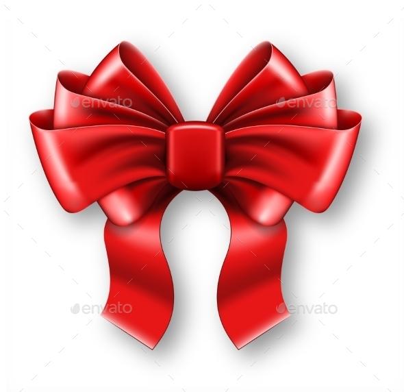 Big Red Bow - Christmas Seasons/Holidays