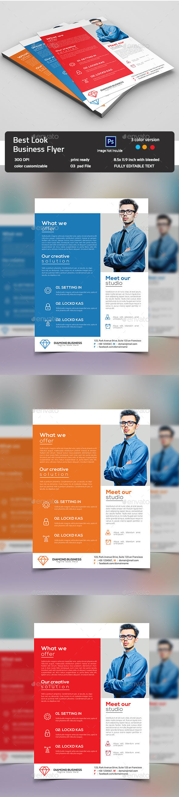 Look Business Flyer - Corporate Flyers