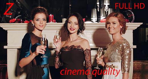 Elegant luxurious women