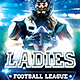 Women's Football Flyer - GraphicRiver Item for Sale