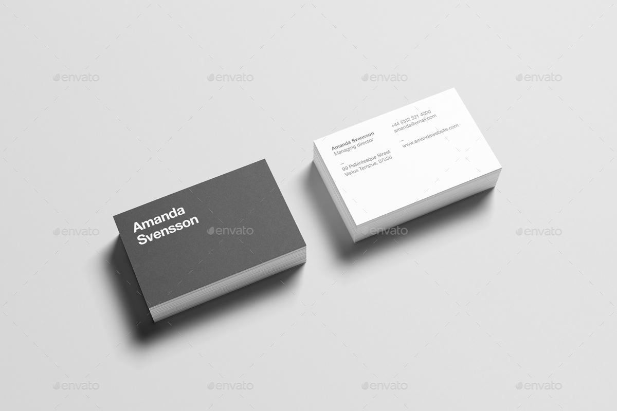 Business card stack mock up by zeisla graphicriver 07business card stack mock upg colourmoves
