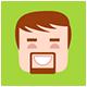 Minimalistic Flat Persons Icons Set