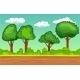 Cartoon Seamless Horizontal Landscape - GraphicRiver Item for Sale