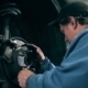 Mechanic Inspecting Car Brake Discs - VideoHive Item for Sale