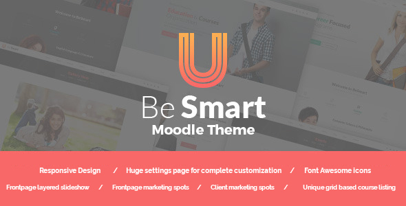 BeSmart – Education & Courses Moodle Theme