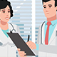 Cartoon Clinic / Doctors And Medical Discussion - VideoHive Item for Sale