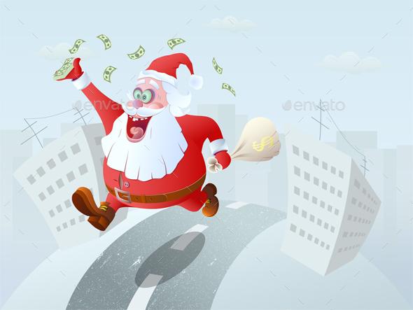 Winner Santa Claus - Christmas Seasons/Holidays