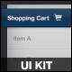 Blue & Fux  UI KIT - GraphicRiver Item for Sale