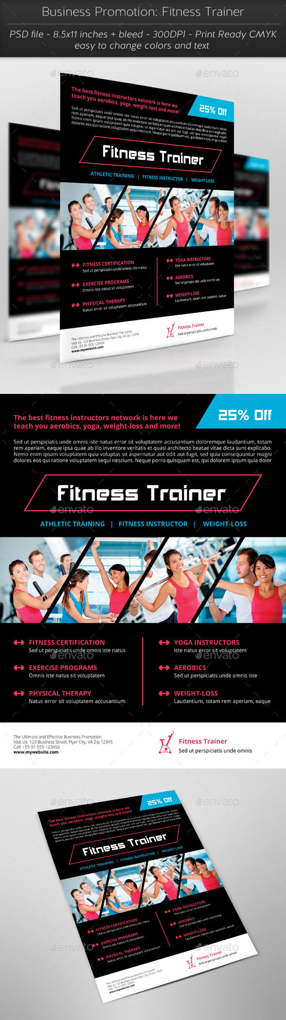 Business Promotion: Fitness Trainer - Sports Events