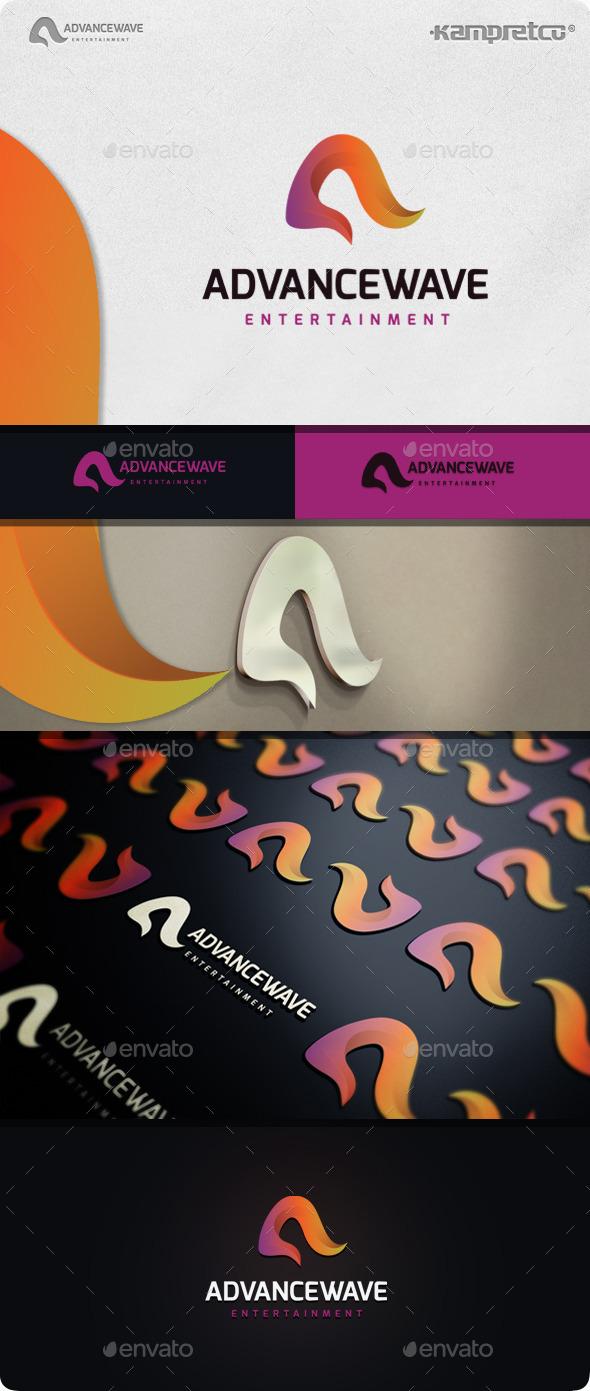 Advance Logo - Vector Abstract