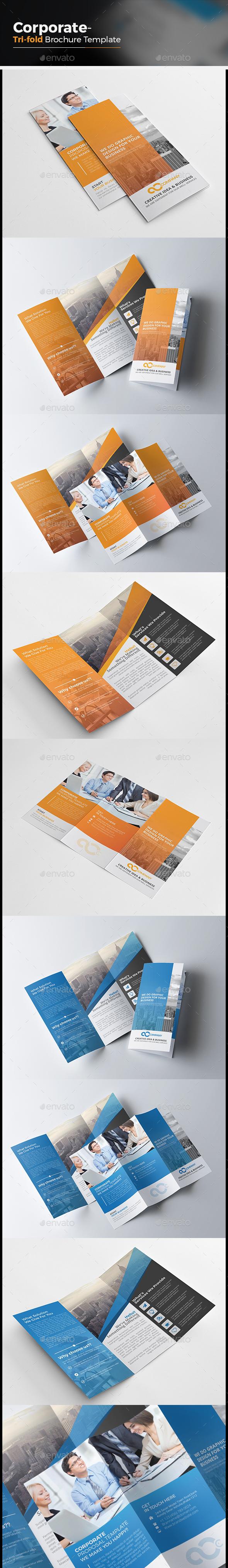 Corporate Tri-fold Brochure - Corporate Brochures