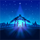 Christmas Star and Birth of Jesus - GraphicRiver Item for Sale