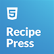 RecipePress - Food & Recipes Premium HTML Template - ThemeForest Item for Sale