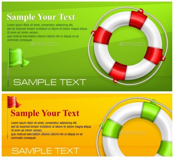 Life Buoy on Color  - Concepts Business