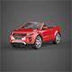 Convertible sport car