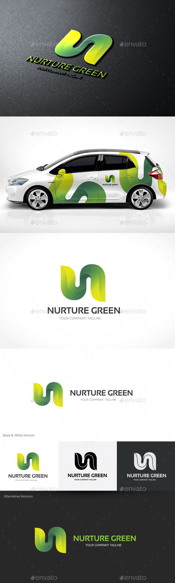 Nurture Green - Nature Logo Templates