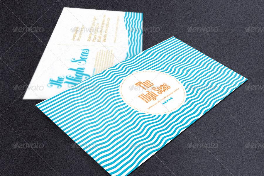 Hotel, Beach Resort, Swimming Club Business Card by ShermanJackson
